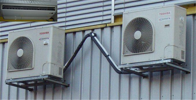 Zwei Hochleistungs Kompressoren sorgen für günstige Temperatur